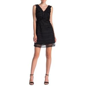 NWT. Sam Edelman Lace V Neck Dress